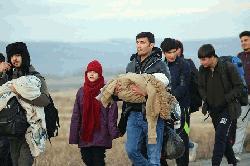 শরণার্থীদের ইউরোপের সীমান্ত খুলে দিয়েছে তুরস্ক