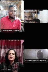 'করোনাকালে নারী সাংবাদিকদের অধিকার লঙ্ঘনের ঘটনা চাপা পড়ে যাচ্ছে'