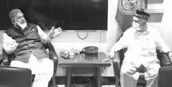 চসিক প্রশাসকের সাথে সৌজন্য সাক্ষাৎ সাবেক মেয়র মনজুর