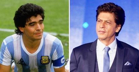 ফুটবলকে সুন্দর করেছেন ম্যারাডোনা : শাহরুখ খান