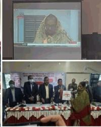তাহিরপুরে ২৪ টি স্বপ্নের নীড় পেলো গৃহহীনরা