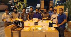 চট্টগ্রাম বন্দরে ৬০ লাখ শলকা বিদেশি সিগারেট জব্দ